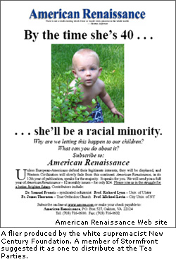 BREAKING:  A Tea Party I Told You So – White Supremacist Connections Proven!