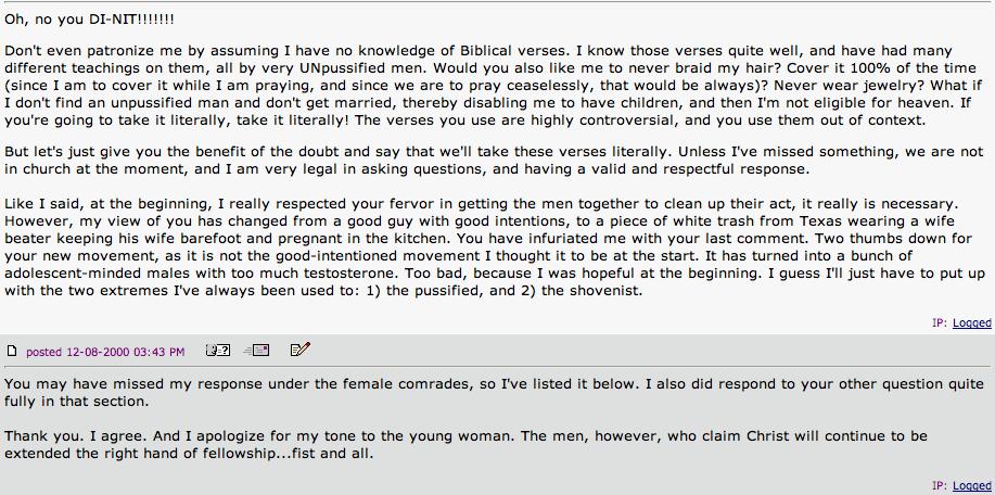 Mark Driscoll's forum